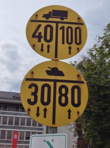 German tanks have speed limits when driving on residential streets. Just throwing that out there.
